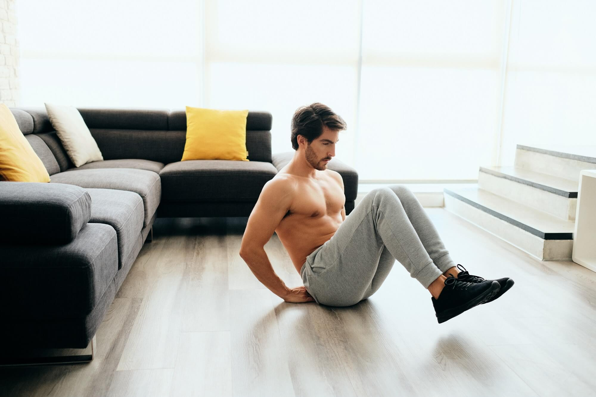 how to workout at home without equipment or weights