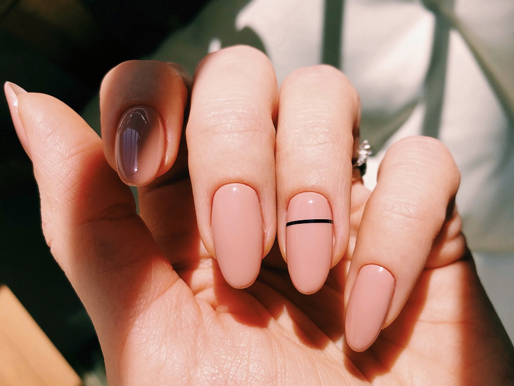 nails painted