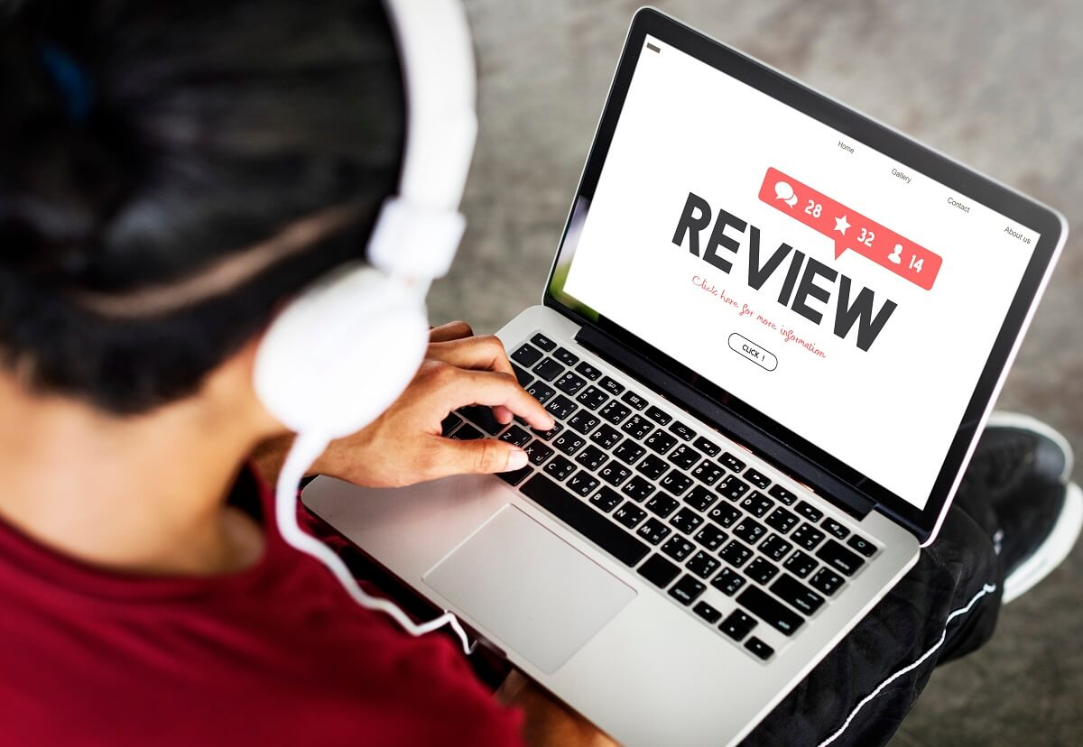 write a review on review submission websites