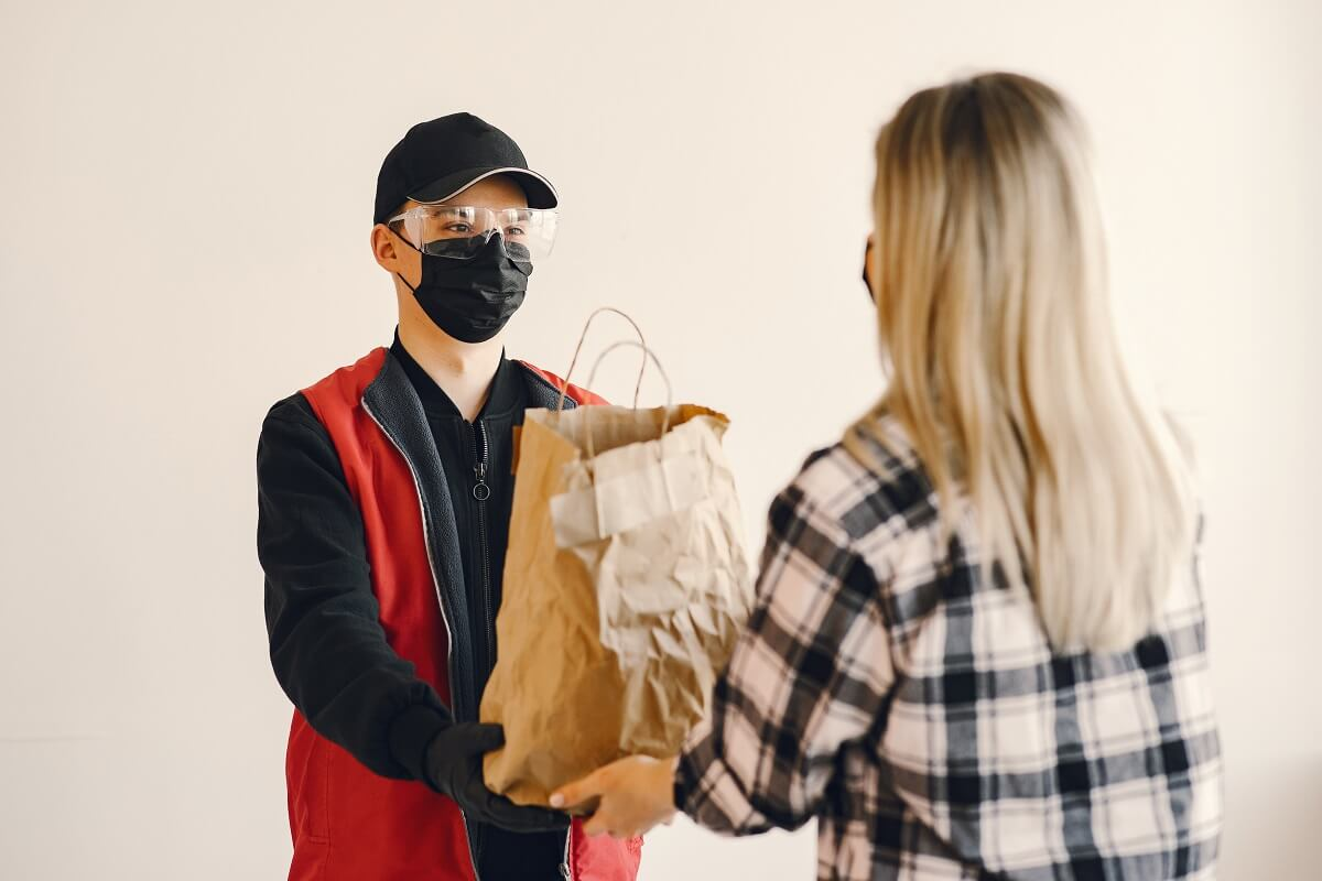 Food delivery during corona virus outbreak
