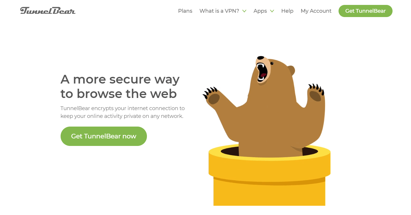 tunnelbear vpn features and benefits