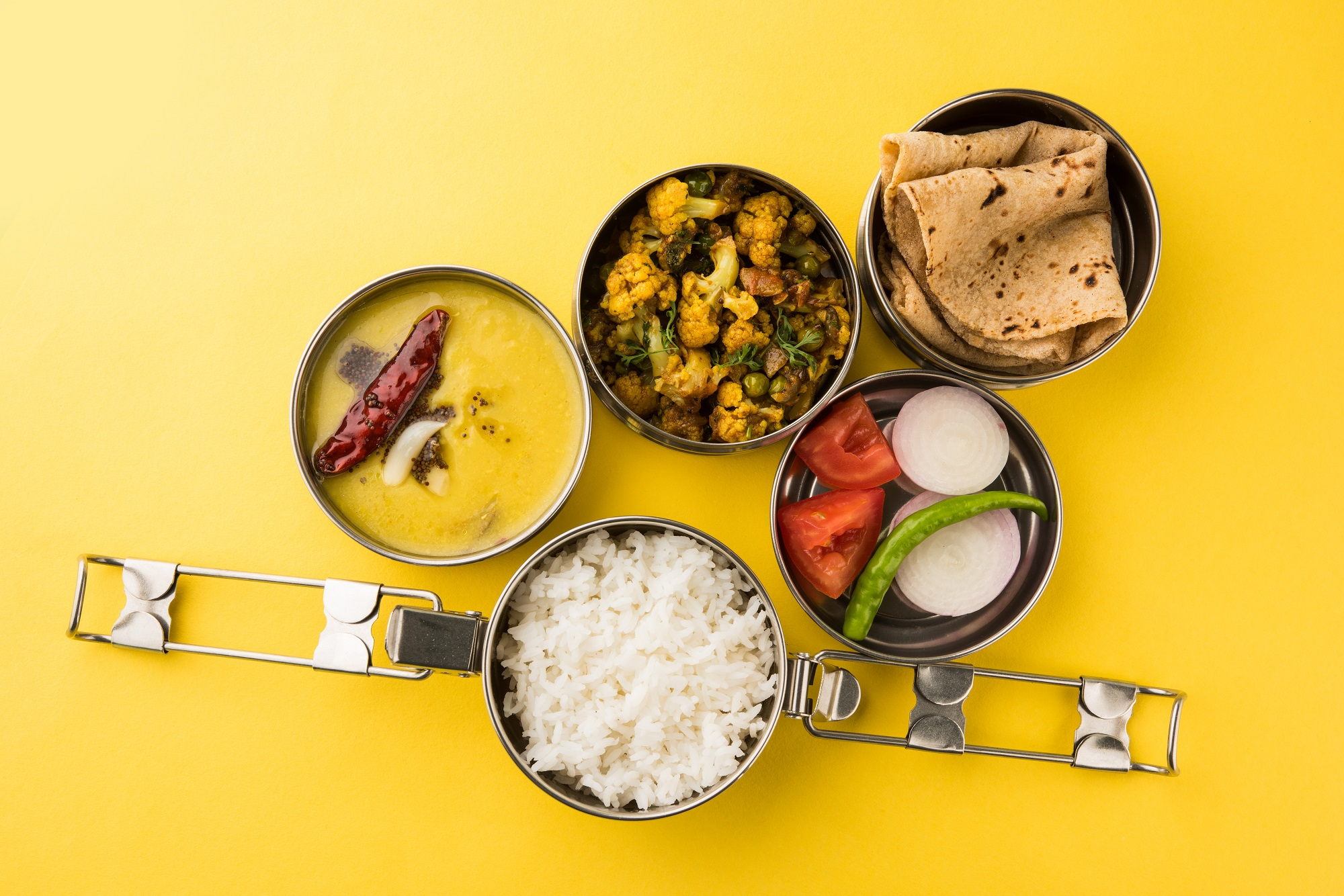 Vegetarian India meal for a healthy takeaway