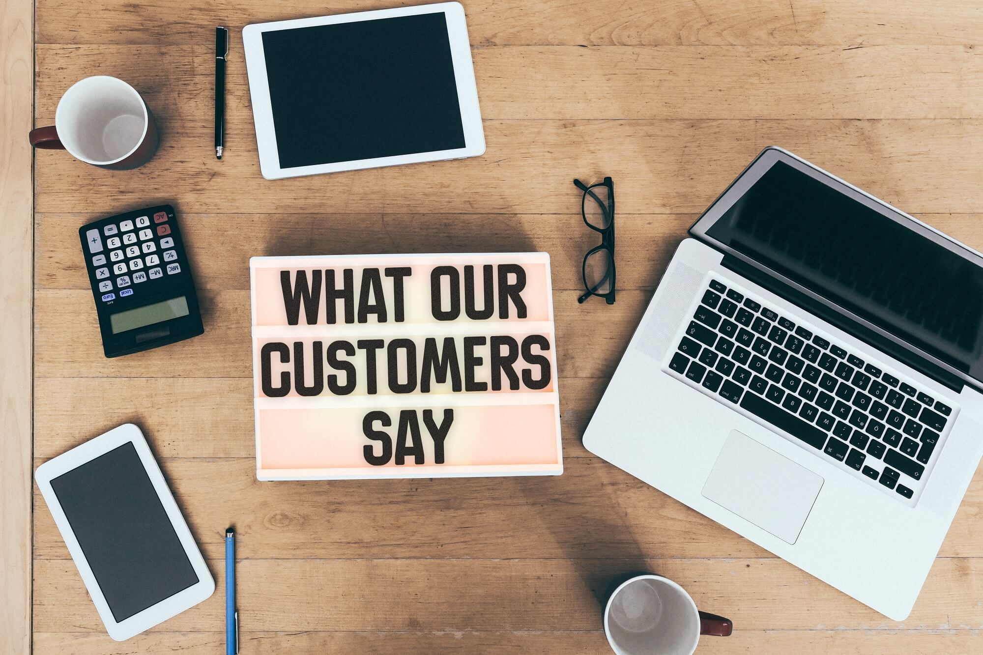 what customers say about the business