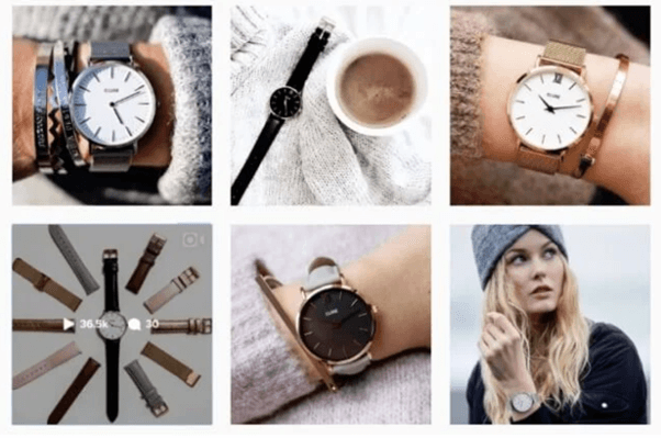 showcasing product images on social media a latest business trend